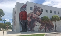 Jose de Diego Middle School in the Wynwood neighborhood.