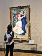 Auguste Renoir, Dance at Bougival, 1883