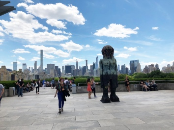 Beautiful views from the Met's rooftop